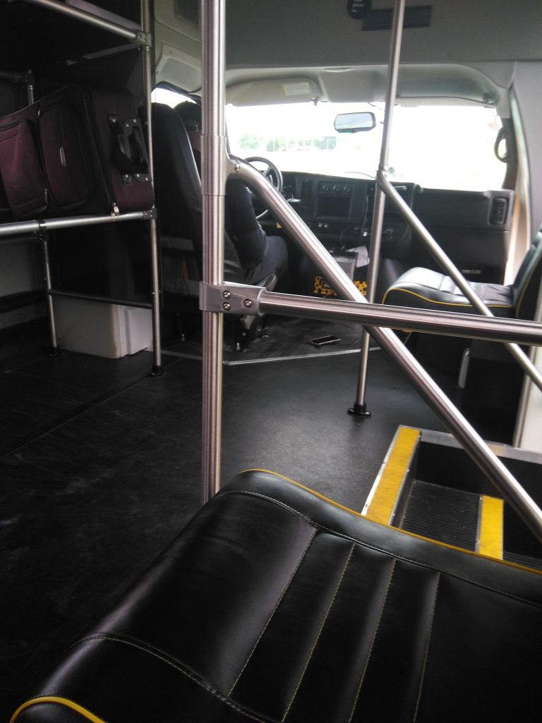 The Parking Spot Interior of Shuttle Steps