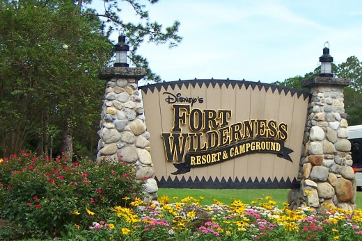 free disney world parking at fort wilderness