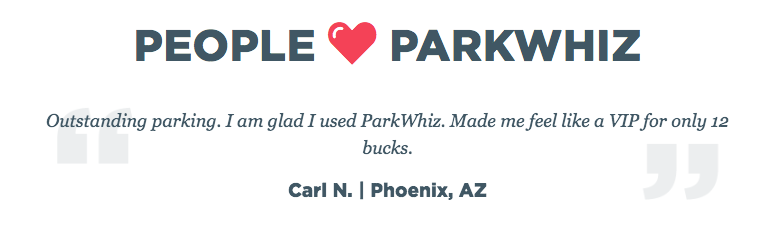 ParkWhiz reviews