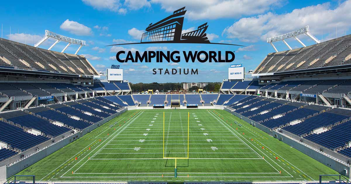 Camping World Stadium Parking Rates and Directions