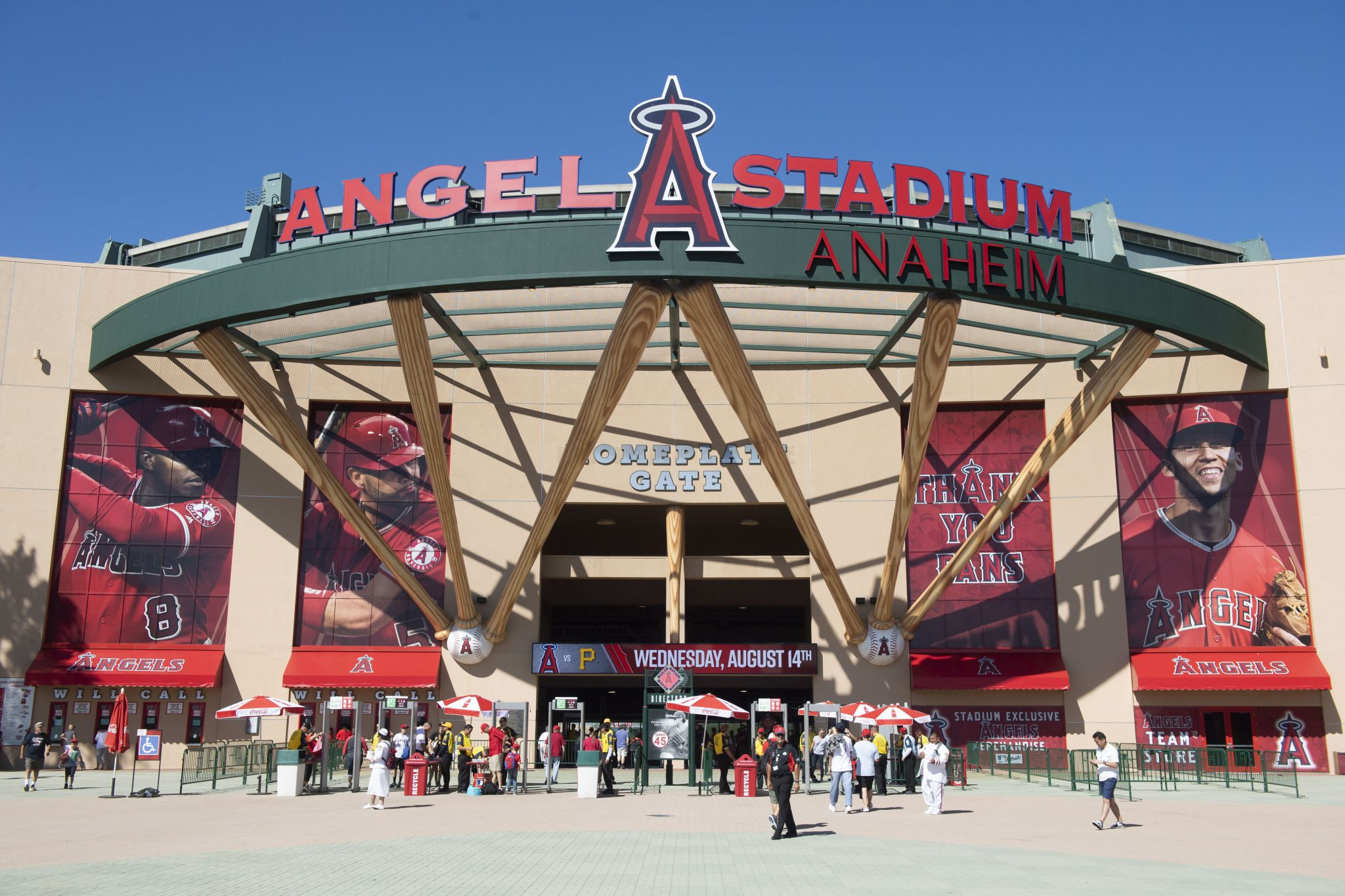 Angel Stadium parking